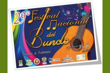 "FESTIVAL NACIONAL DEL BUNDE ""GONZALO SANCHEZ"""