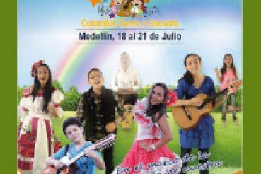 FESTIVAL INFANTIL DE MÚSICA COLOMBIANA COLOMBIA CANTA Y ENCANTA