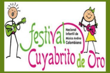"FESTIVAL NACIONAL INFANTIL DE MÚSICA ANDINA COLOMBIANA ""CUYABRITO DE ORO"""