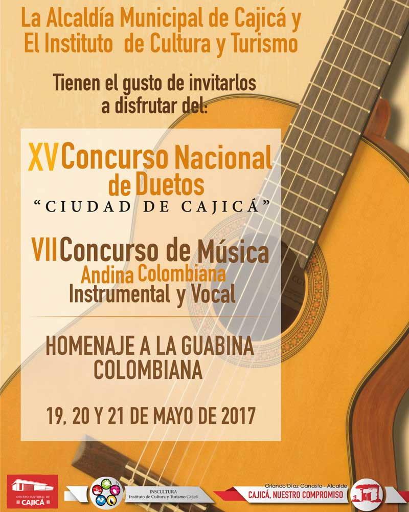 Festival duetos cajicá 2017